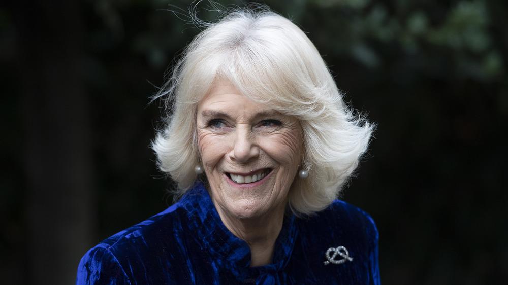Camilla Parker Bowles smiling
