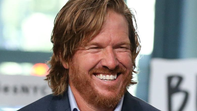 Chip Gaines poses at an event