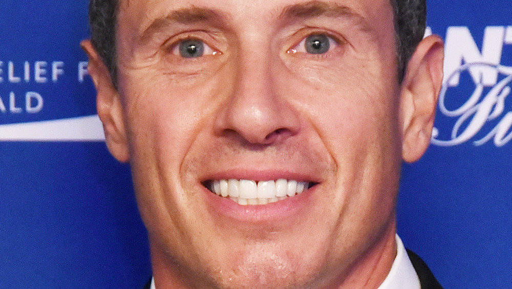 close up of Chris Cuomo smiling