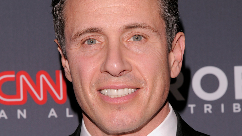 Chris Cuomo arriving at an awards event in 2018