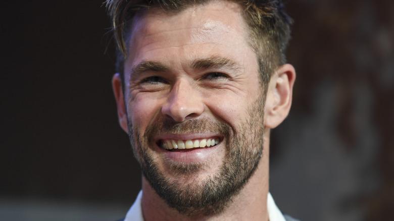 Chris Hemsworth at event
