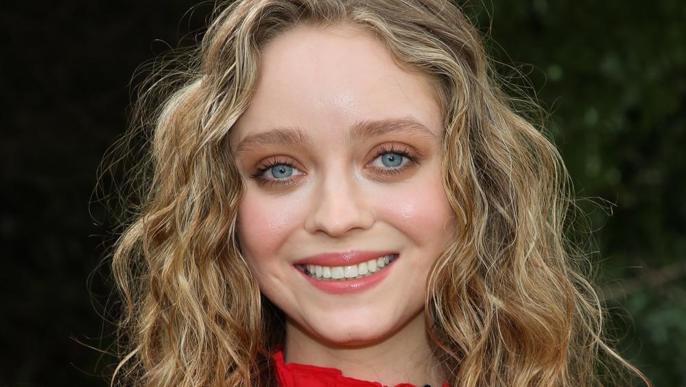 Madeleine Arthur smiling