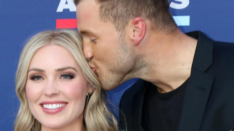 Colton Underwood kisses Cassie Randolph