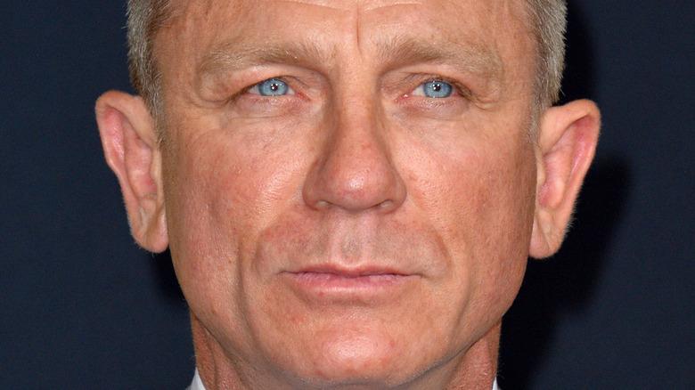 Daniel Craig close-up