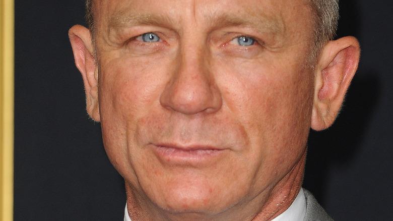 close up of Daniel Craig