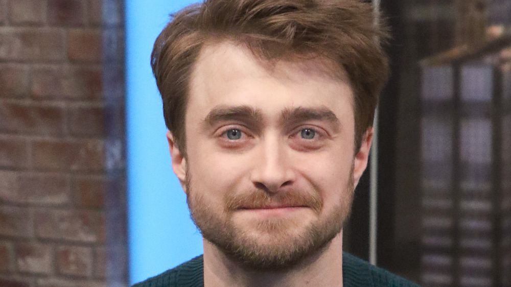Daniel Radcliffe smiling