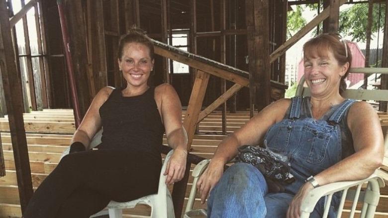 Good Bones stars Mina Starsiak Hawk and Karen E. Laine