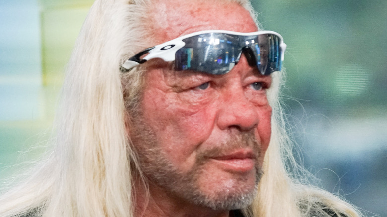 Duane 'Dog' Chapman looking away from the camera