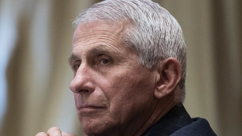 Dr. Anthony Fauci concerned