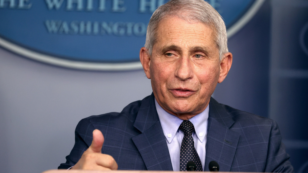 Dr. Anthony Fauci thumbs up