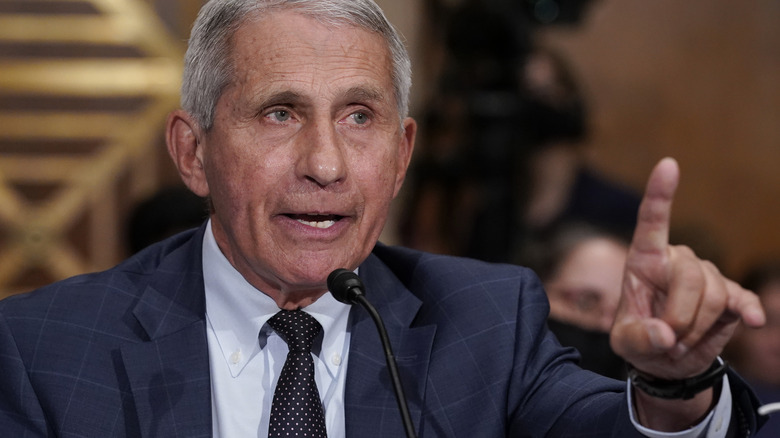 Dr. Fauci makes a point
