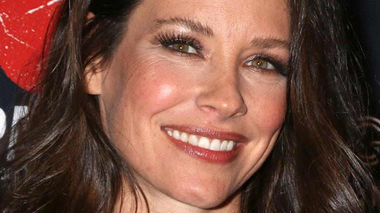 Evangeline Lilly smiling