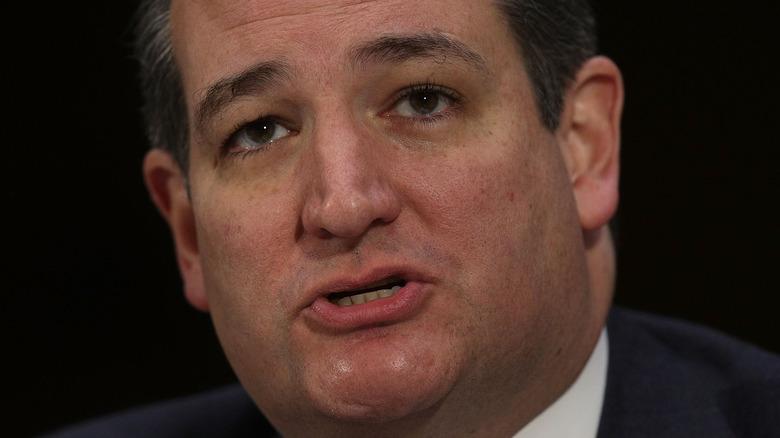 Ted Cruz up close