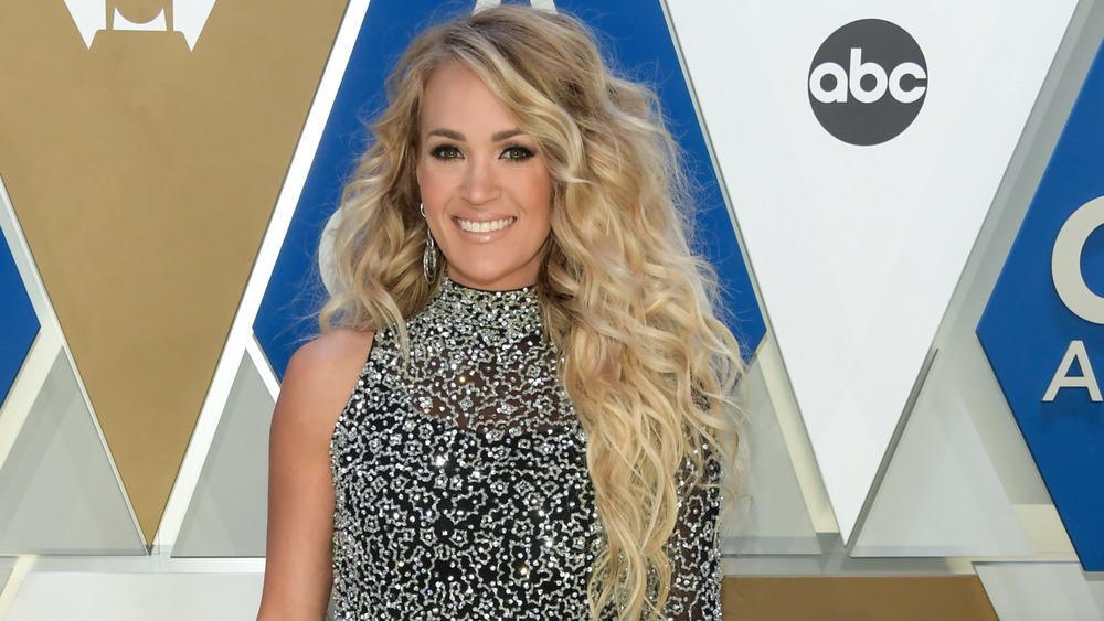 Carrie Underwood at the 2020 CMAs