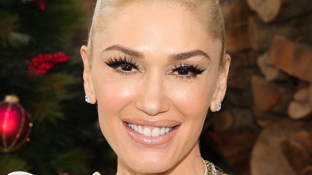 close up of Gwen Stefani