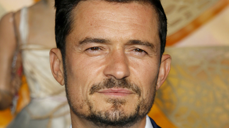 Orlando Bloom, pictured here, not on a paddleboard