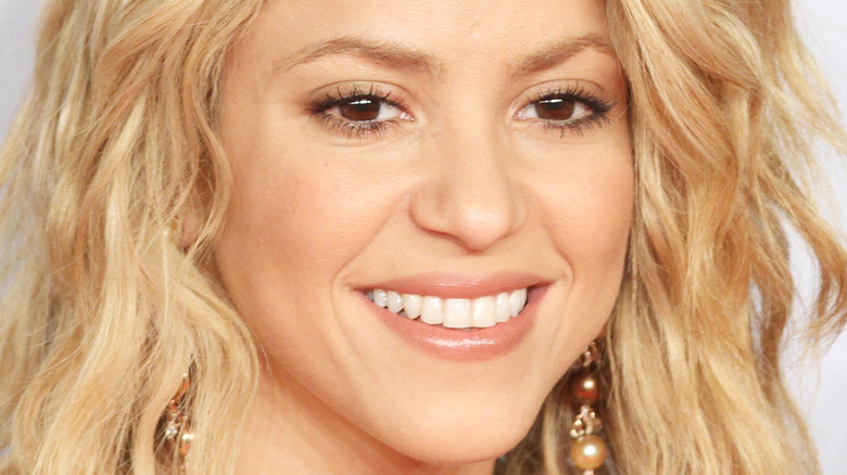 close up of Shakira from 2010