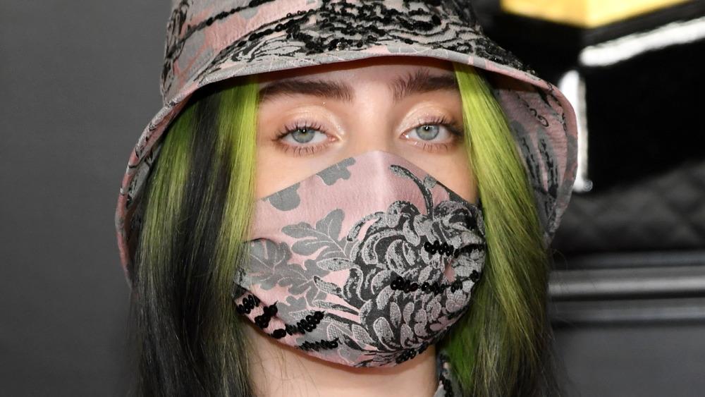 Billie Eilish at 2021 Grammys