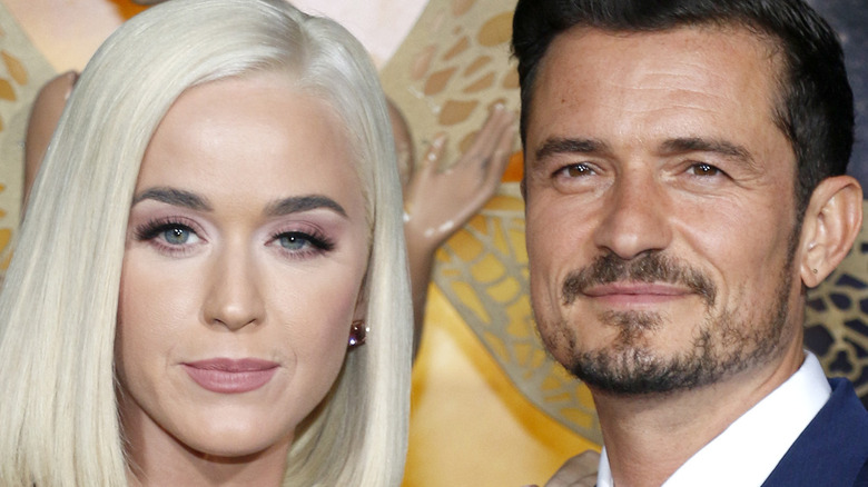 Katy Perry and Orlando Bloom are together at event