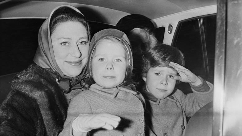Princess Margaret and children