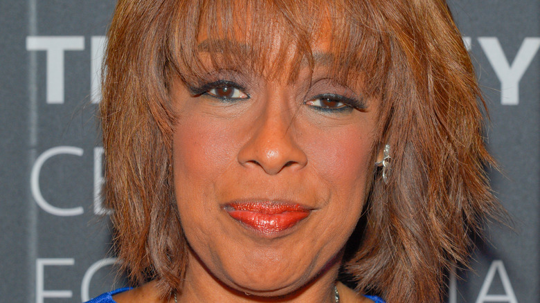 close up of Gayle King