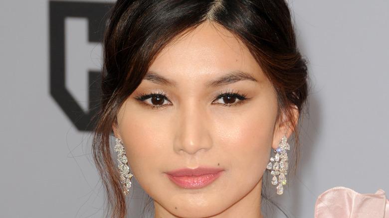 Gemma Chan on a red carpet