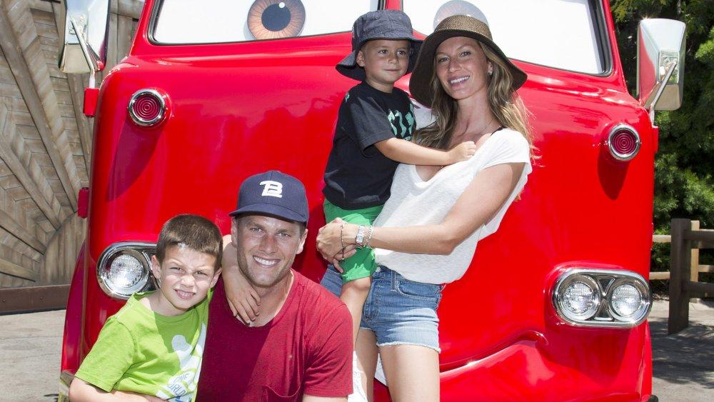 Gisele Bundchen and family