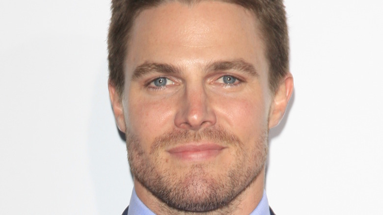 Stephen Amell at event