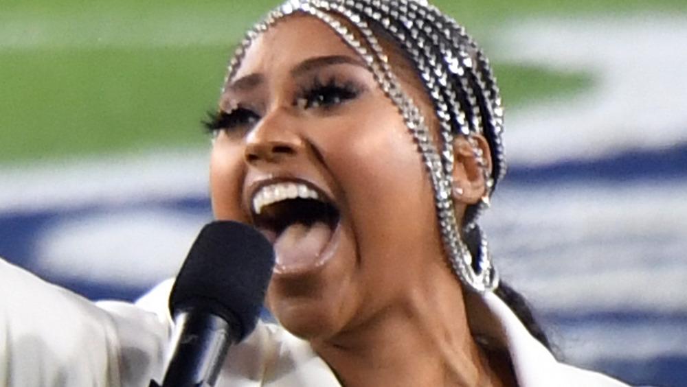 Jazmine Sullivan Super Bowl 2021