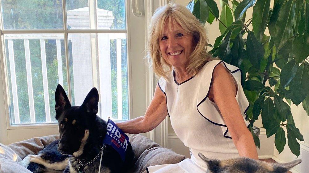 Jill Biden and Major