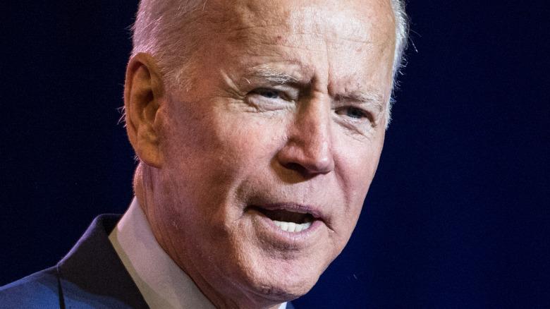 President Joe Biden speaking