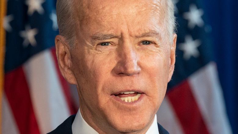 Joe Biden speaking at an event