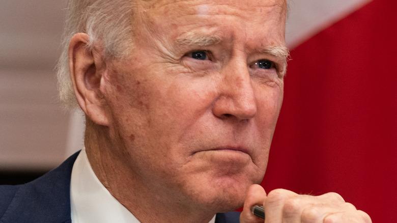 Joe Biden looking ahead