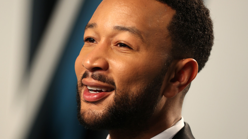 John Legend smiling