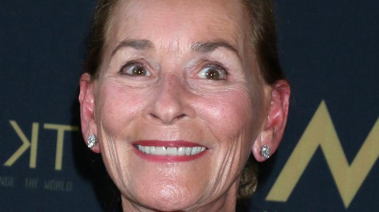 Judge Judy smiling