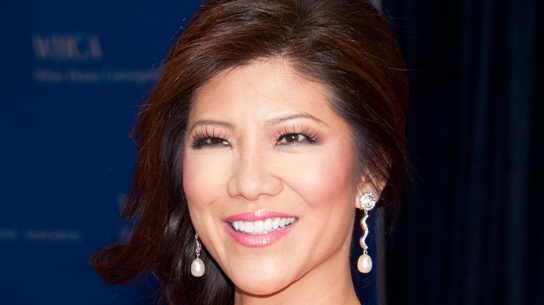 Julie Chen smiles at an event