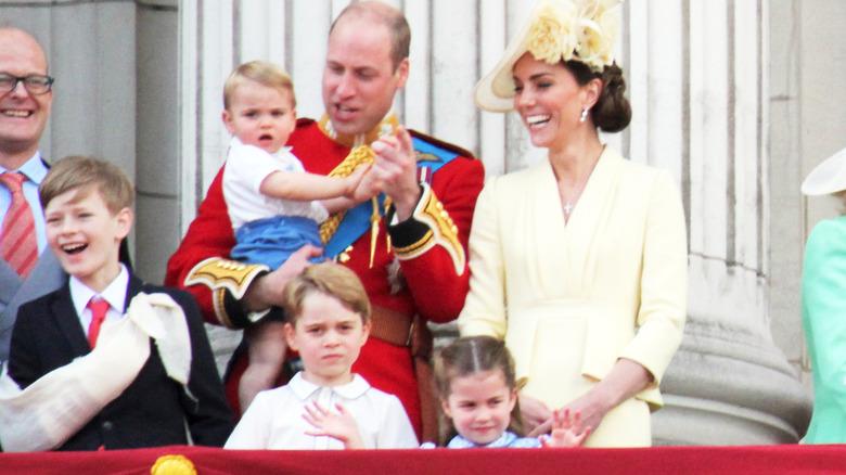 William and Catherine in 2019