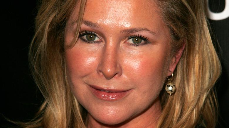 Kathy Hilton smiling