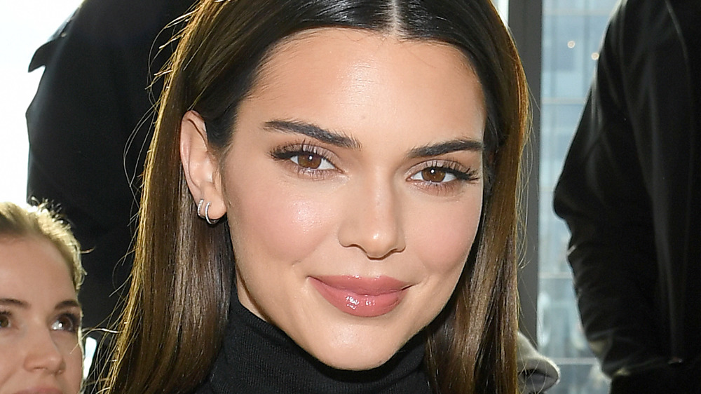 Kendall Jenner posing at an event