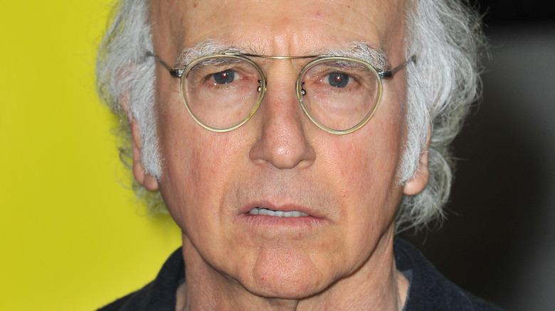 Larry David close-up