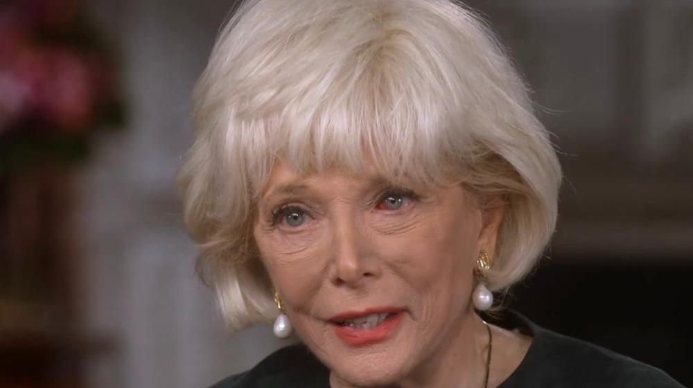 Screenshot of Leslie Stahl on 60 Minutes