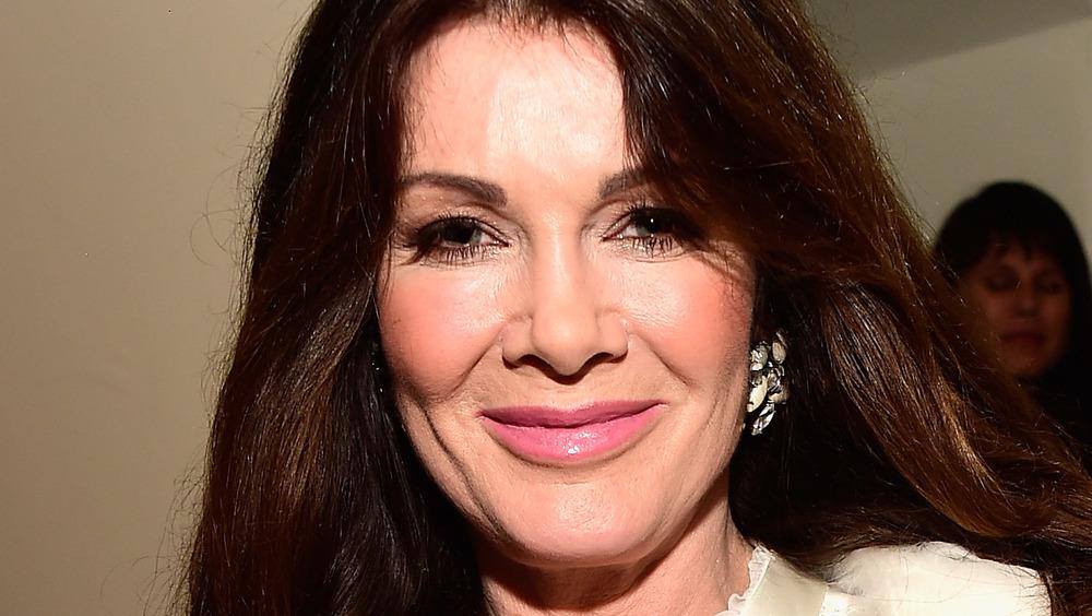 Lisa Vanderpump smiles