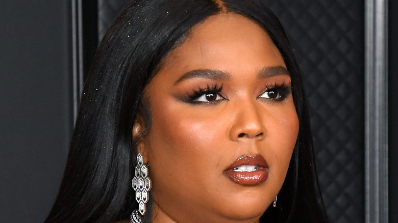 Lizzo appearing at event
