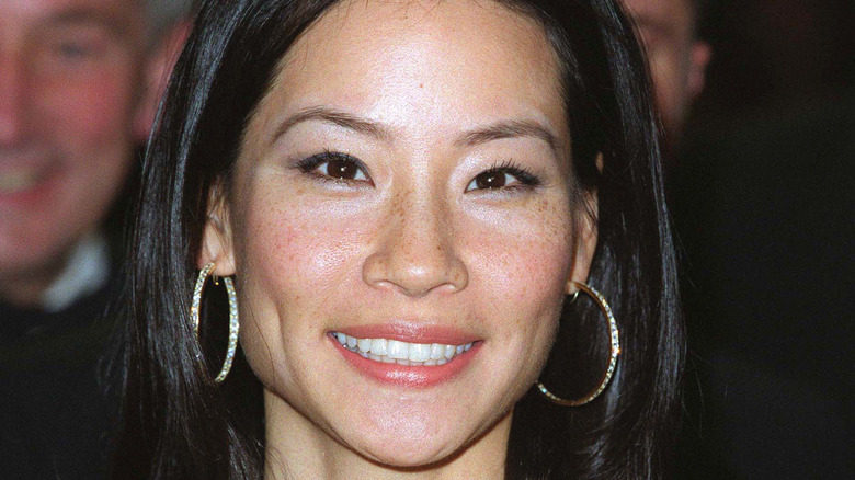 Lucy Liu at Charlie's Angels premiere