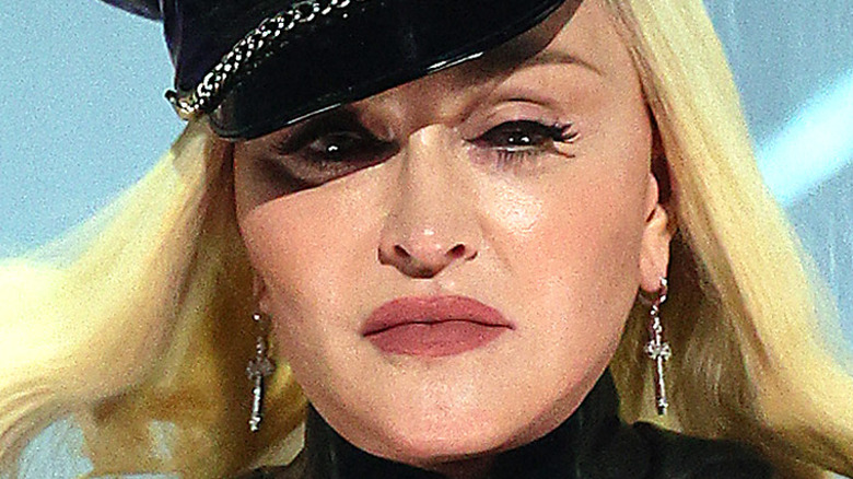 Madonna at the 2021 VMA awards