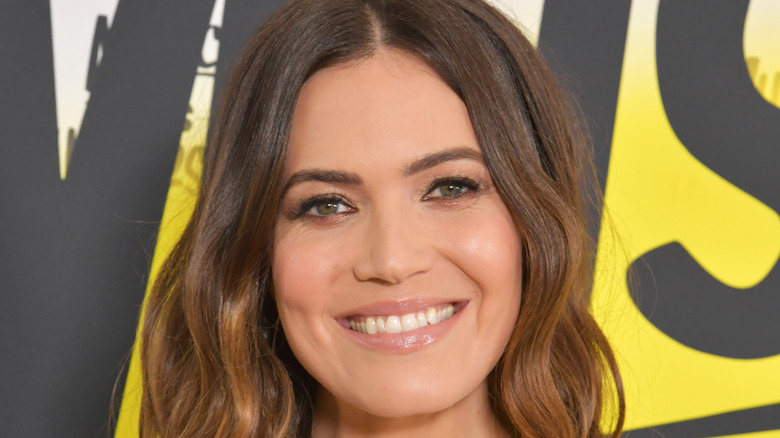 Mandy Moore smiling at an event