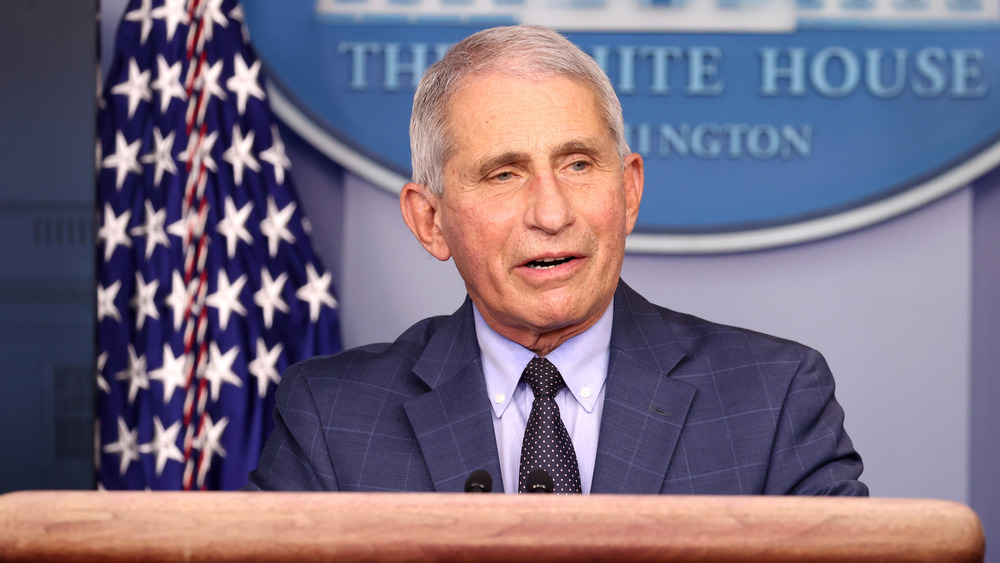 Dr. Fauci White House briefing