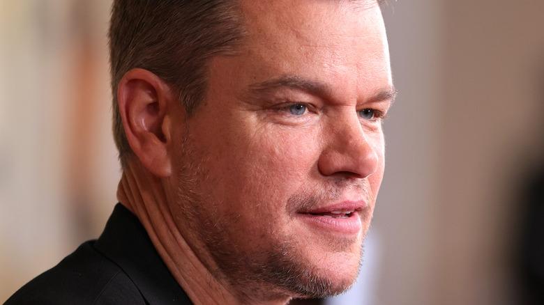 Matt Damon attends a movie premiere in NYC.