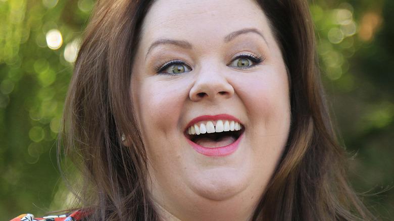 Melissa McCarthy laughing