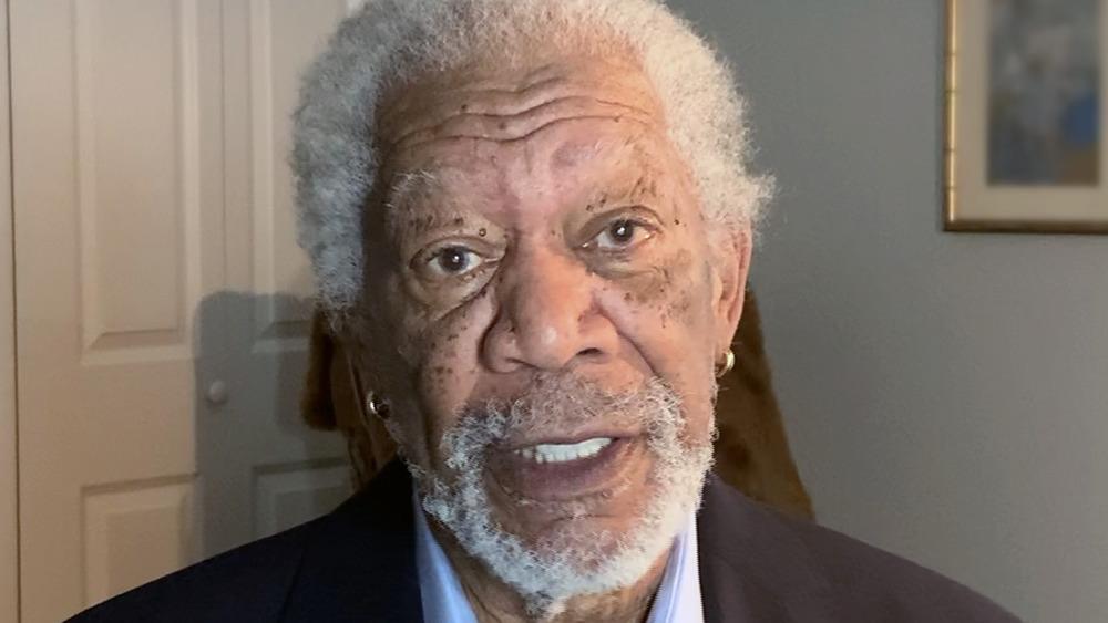 Morgan Freeman speaking